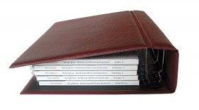 Multi collect Ringbinder-weinrot
