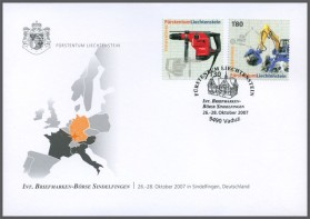 Messebeleg - Internationale Briefmarken-Börse, Berlin
