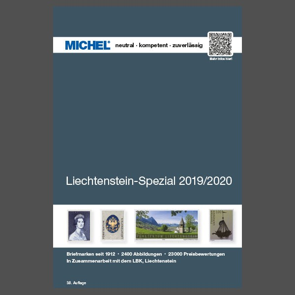 Liechtenstein Stamp Catalogue 2019/2020