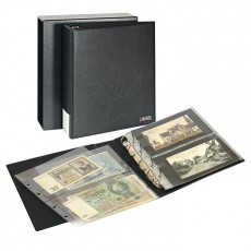 PUBLICA M Album for Collections, for up to 80 Banknotes/Postcards