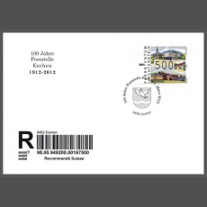 Special cover - 100 Years of Post-Office Eschen