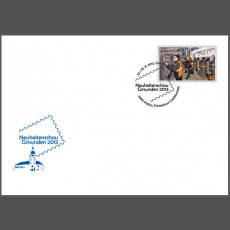 Special Cover - 2013 New Issues Exhibition in Gmunden