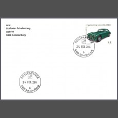 Special Cover - First use date postmark post partner 9488 Schellenberg (b)