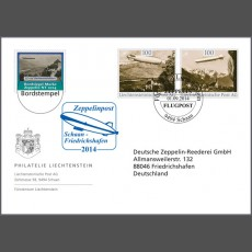 Special Cover - Zeppelin post