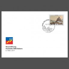 Special Cover – Reopening 9496 Balzers post office