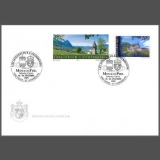 Stamp fair cover - MonacoPhil, Monte Carlo
