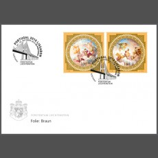 Stamp fair cover - Portugal 2010