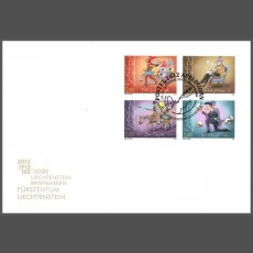 Stamp fair cover - Postex 2012
