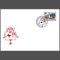 Stamp fair cover - Australia 2013 World Stamp Exhibition, Melbourne, Australia