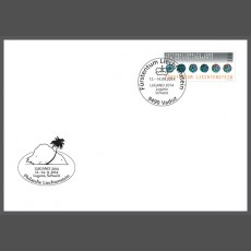 Stamp fair cover - LUGANO 2014, Lugano, Schweiz