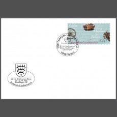 Stamp fair cover - 32nd Internationale Briefmarken-Börse Sindelfingen, Germany