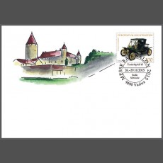 Stamp fair cover - Timbr@phil'15, Bulle, Switzerland