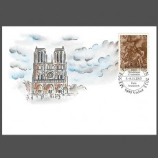 Stamp fair cover - Salon Philatélique d'automne Paris, France