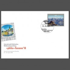"Stamp fair cover - ""phila""-Toscana Gmunden"