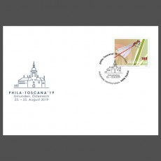 "Stamp fair cover - ""phila""-Toscana 2019, Gmunden"