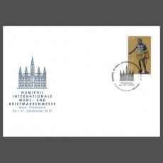 Stamp fair cover - Numiphil Int. Münz- und Briefmarkenmesse, Wien