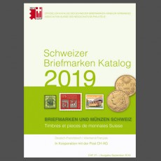 Swiss Stamp Catalogue - 2019