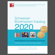 Swiss Stamp Catalogue - 2020