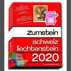 Zumstein Stamp Catalogue - Switzerland-Liechtenstein 2020