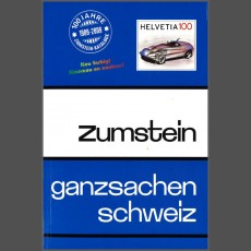 Zumstein postal stationary catalogue Switzerland
