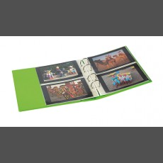 PUBLICA M COLOR Universal Album for Postcards, Photos with 10 divided pages, which can be filled from both sides-Spring