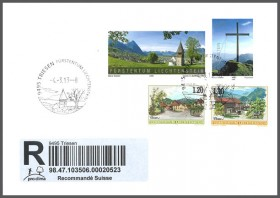 Special Cover - New Promotional Postmark Triesen