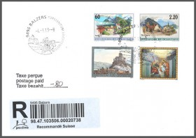 Special Cover - New Promotional Postmark Balzers