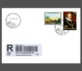 Special Cover - New Promotional Postmark Vaduz