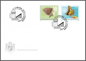 Stamp fair cover - LUNABA
