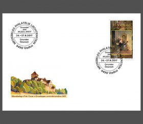 Stamp fair cover – Gmunden 2017