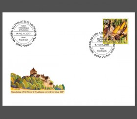 Stamp fair cover – Salon d'automne, Paris