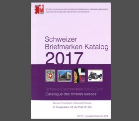 Swiss Stamp Catalogue - Switzerland/Liechtenstein - 2017