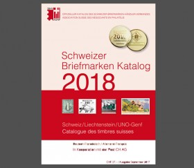 Swiss Stamp Catalogue - Switzerland/Liechtenstein - 2018
