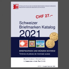 Swiss Stamp Catalogue - 2021