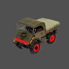 Voiture miniature de collection - Unimog 1953 - 1/43